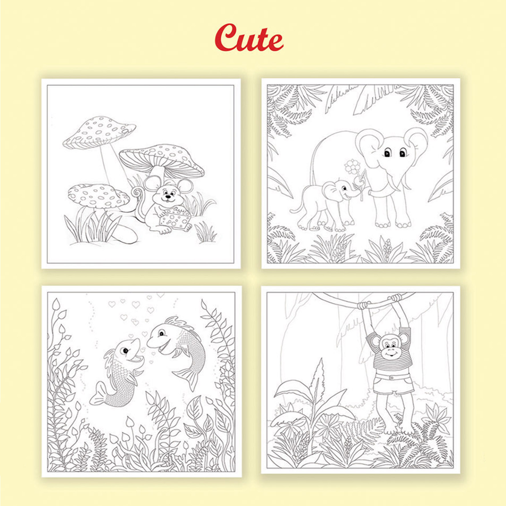 colouring pages u2013 star dust greeting cards